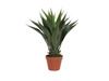 Yucca bush, dark green, artificial plant, 50cm