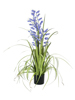 Bellflower, artificial flower, purple, 105cm