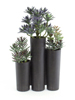 Succulent trio, artificial, 43cm