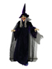 Halloween figure Witch, animated 175cm