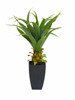 Agave plant with pot, artificial plant, 75cm