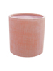 Cachepot Terracotta-optics round 50x50cm