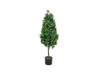 Laurel Cone Tree, high trunk, artificial plant, 120cm