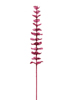 Crystal eucalyptus, artificial plant, burgundy 81cm 12x