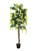 Europalms Wisteria, artificial plant, yellow, 150cm