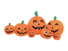 Inflatable Figure Pumpkin Family, 95cm
