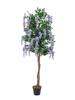 Europalms Wisteria, artificial plant, purple, 150cm