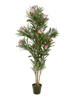 Oleander tree, artificial plant, pink, 150 cm