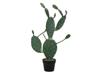 Nopal cactus, artificial plant, 76cm