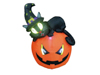 Inflatable figure Witch pumpkin, 150cm