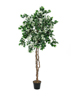Bougainvillea, artificial plant, white, 180cm