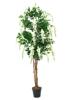 Wisteria, artificial plant, white, 180cm