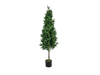 Europalms Laurel Cone Tree, high trunk, artificial plant, 150cm