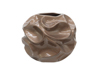 Design pot BUBBLE-35, brown