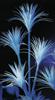Yucca palm, artificial, uv-white, 180cm