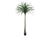 Dracena, green, artificial, 220cm