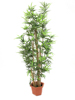 Bamboo with natural stalks, artificial plant, 205cm