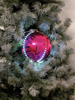 Europalms LED Snowball 8cm, pink 5x