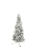Fir tree FUTURA, silver metallic, 180cm