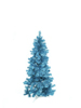 Fir tree FUTURA, turquoise metallic,180cm