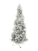 Fir tree FUTURA, silver metallic, 210cm