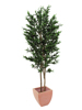 Europalms Olive Tree with fruits, 2 trunks, artificial, 250cm
