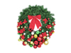 Premium Fir Wreath, decorated, 90cm