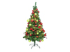 Premium pine tree, decorated , 180cm