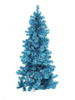 Fir tree FUTURA, turquoise metallic,210cm