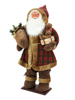 Bushy beard Santa, inflatable with integrated pump, 160cm