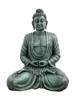 Buddha, antique-black, 120cm