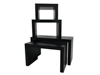 Europalms LEICHTSIN DECO TABLES, black