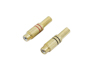 RCA socket gold-plated 5.4mm 2x