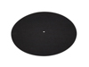 Slipmat, anti-static, neutral black