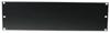 Front Panel Z-19U-shaped steel black 3U