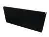 Omnitronic Front Panel Z-19U-shaped steel black 5U