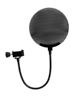 Omnitronic Microphone-Pop Filter metal, black