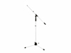 Microphone Tripod MS-1W with Boom Arm white