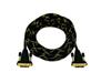 DVI cable 5m bk