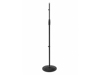 Omnitronic Microphone Stand 85-157cm bk