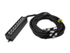 Multicore Stagebox MUS-820 8IN 20m
