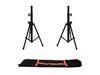 Omnitronic Set 2x BS-1 EU Loudspeaker Stand + Carrying bag