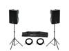 Omnitronic Set 2x XKB-212A + Speaker Stand MOVE MK2
