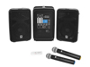 Set COMBO-160BT active PA system + UWM-2HH USB Wireless mic set