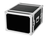 Roadinger Amplifier Rack PR-2, 8U, 47cm deep