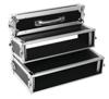 Roadinger Double CD Player Case Tour Pro, 2U, black