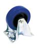 Fixed Castor blue wheelsize:100mm