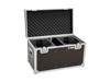 Roadinger Flightcase 2x LED TMH-X4