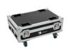 Roadinger Flightcase 4x AKKU BAR-6 Glow QCL Flex QuickDMX