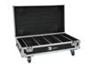 Roadinger Flightcase 4x AKKU BAR-6 QCL with charging function